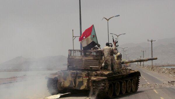 Situación en Aden - Sputnik Mundo