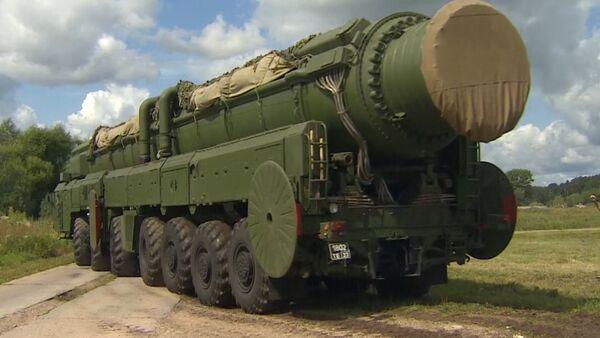 Misiles Tópol-M - Sputnik Mundo