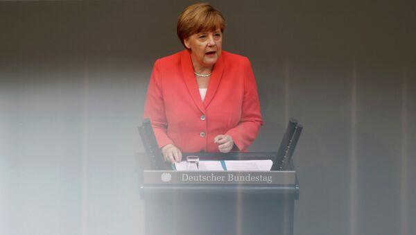 Ángela Merkel, canciller federal de Alemania - Sputnik Mundo