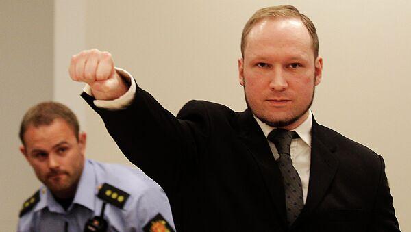 Anders Breivik, el autor de los atentados de Oslo - Sputnik Mundo