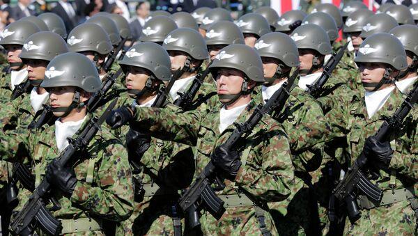 Fuerzas de autodefensa de Japón - Sputnik Mundo
