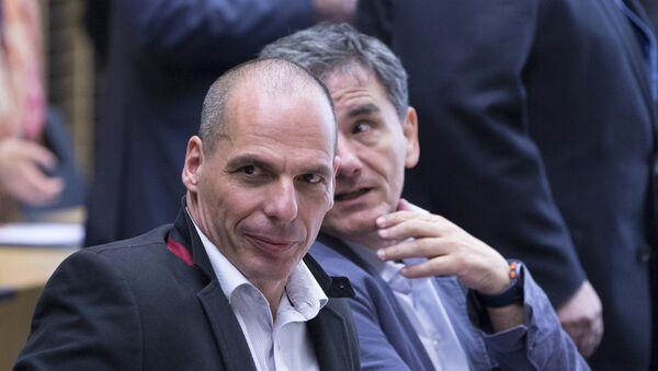 Yanis Varufakis, exministro de Finanzas griego - Sputnik Mundo