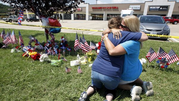 Estadounidenses lloran la muerte de marines en Tennessee - Sputnik Mundo