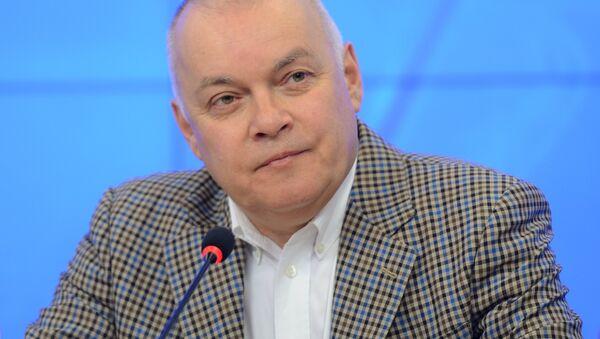 Dmitri Kiseliov, director general de la agencia Rossiya Segodnya - Sputnik Mundo