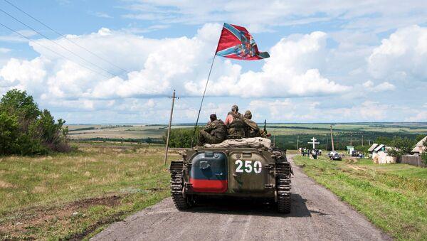 Milicias de Donbás (Archivo) - Sputnik Mundo