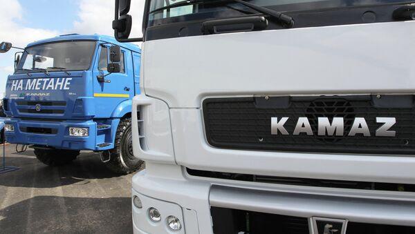 Camiones Kamaz - Sputnik Mundo