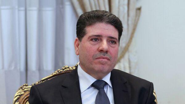 Wael al Halqi, primer ministro de Siria - Sputnik Mundo