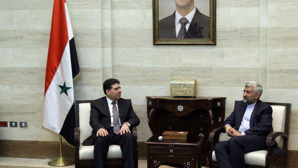 Wael Nader al-Halqi, el primer ministro sirio - Sputnik Mundo