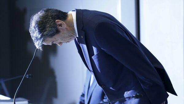 Hisao Tanaka, presidente de Toshiba - Sputnik Mundo