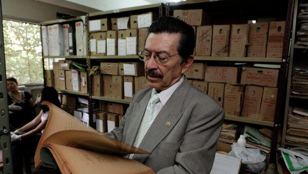 Activista de DDHH paraguayo estudia documentos conectados con Operación Cóndor - Sputnik Mundo