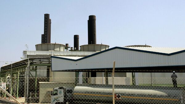 Planta energética de Gaza en Nusseirat - Sputnik Mundo