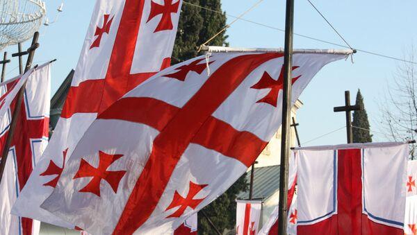 Banderas de Georgia - Sputnik Mundo