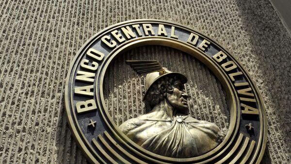Sede del Banco Central de Bolivia - Sputnik Mundo