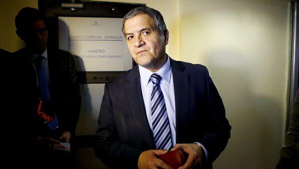 Mario Carroza, juez a cargo del caso - Sputnik Mundo