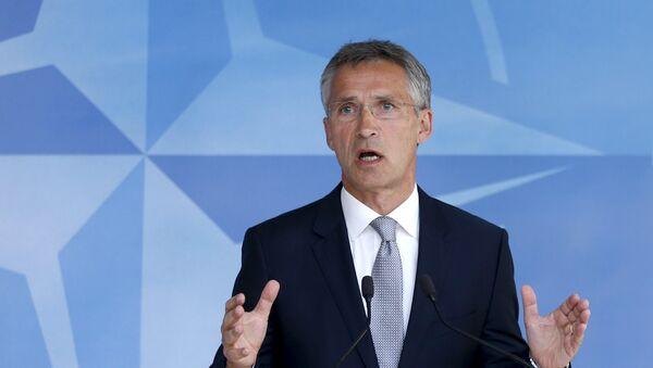 Jens Stoltenberg, secretario general de la OTAN - Sputnik Mundo