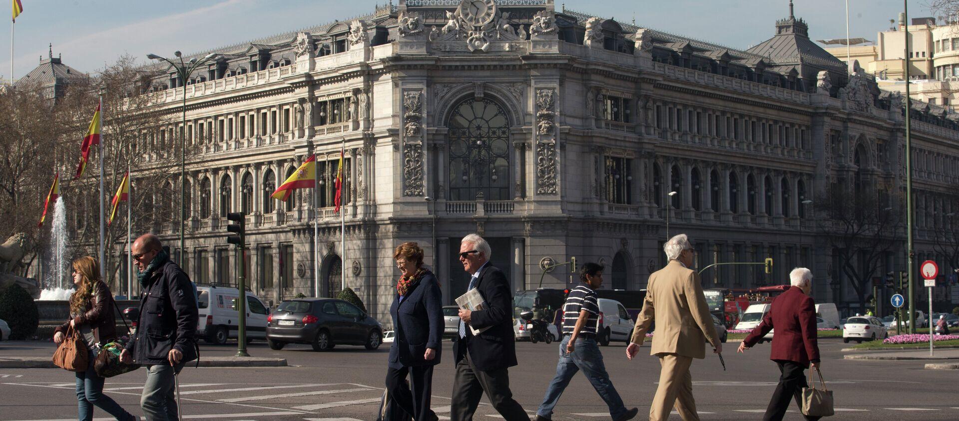 Banco Central de España en Madrid (archivo) - Sputnik Mundo, 1920, 08.07.2019