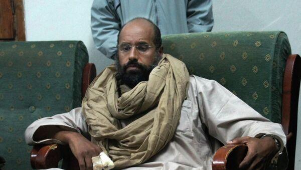 Seif al-Islam, hijo de Gadafi (archivo) - Sputnik Mundo