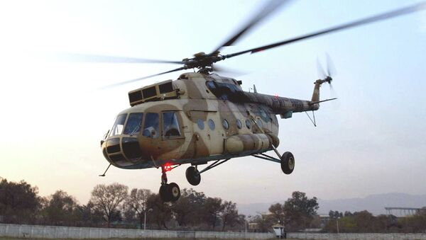This undated photo shows a Russian-made MI-17 Pakistan Army helicopter landing in Islamabad, Pakistan - Sputnik Mundo