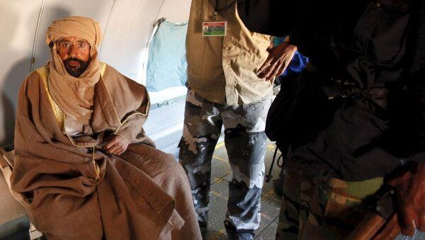 Seif al-Islam, hijo de exlíder libio muamar Gadafi - Sputnik Mundo