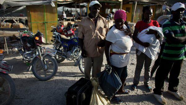 Migrantes haitianos (Archivo) - Sputnik Mundo