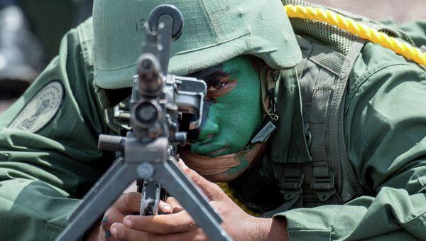 Soldado venezolano (archivo) - Sputnik Mundo