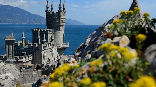 Castillo Nido de Golondrina en Yalta, Crimea - Sputnik Mundo