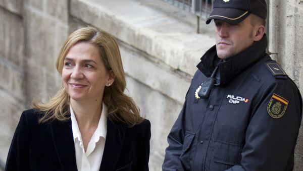 Cristina de Borbón (archivo) - Sputnik Mundo