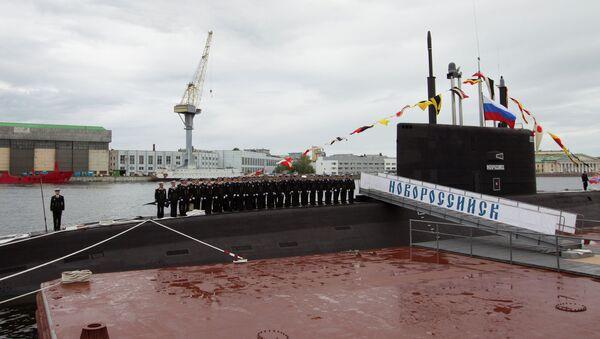 Submarino ruso Novorossiisk - Sputnik Mundo
