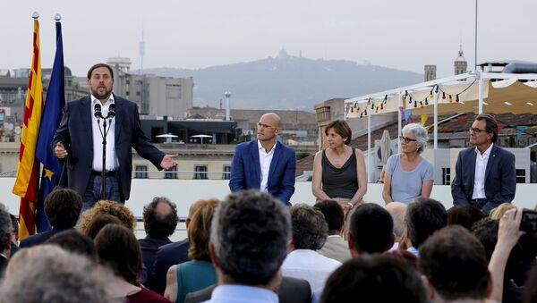 Oriol Junqueras, líder de Esquerra Republicana de Catalunya - Sputnik Mundo