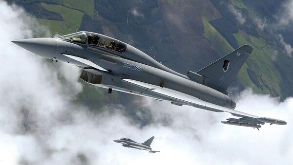 Caza Eurofighter Typhoon - Sputnik Mundo