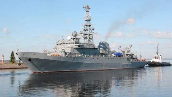 Barco espía ruso Yuri Ivanov - Sputnik Mundo