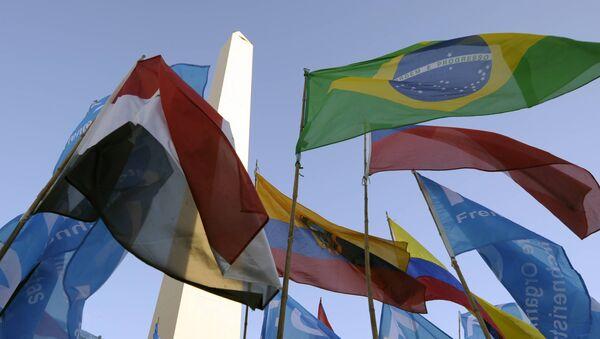 Banderas de Mercosur  - Sputnik Mundo
