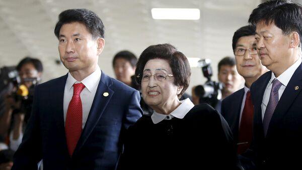 Lee Hee-ho, la viuda del expresidente surcoreano Kim Dae-jung - Sputnik Mundo