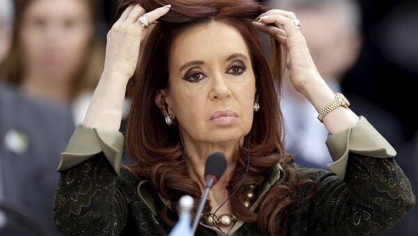Cristina Fernández de Kirchner, expresidenta de Argentina (archivo) - Sputnik Mundo