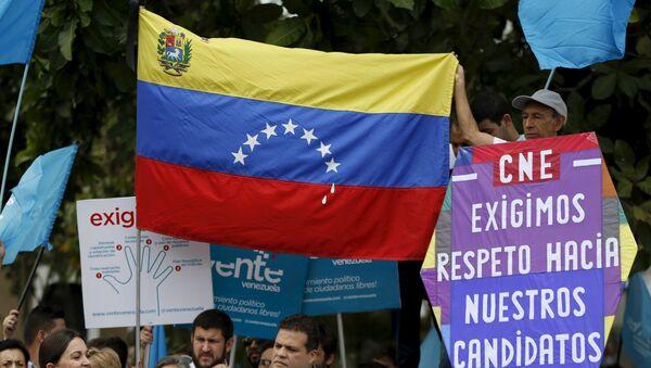 """Gobierno de Venezuela rechaza """"injerencia"""" de EEUU en comicios parlamentarios - Sputnik Mundo"""