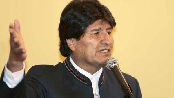 Evo Morales, presidente de Bolivia, el 5 de agosto, 2015 - Sputnik Mundo