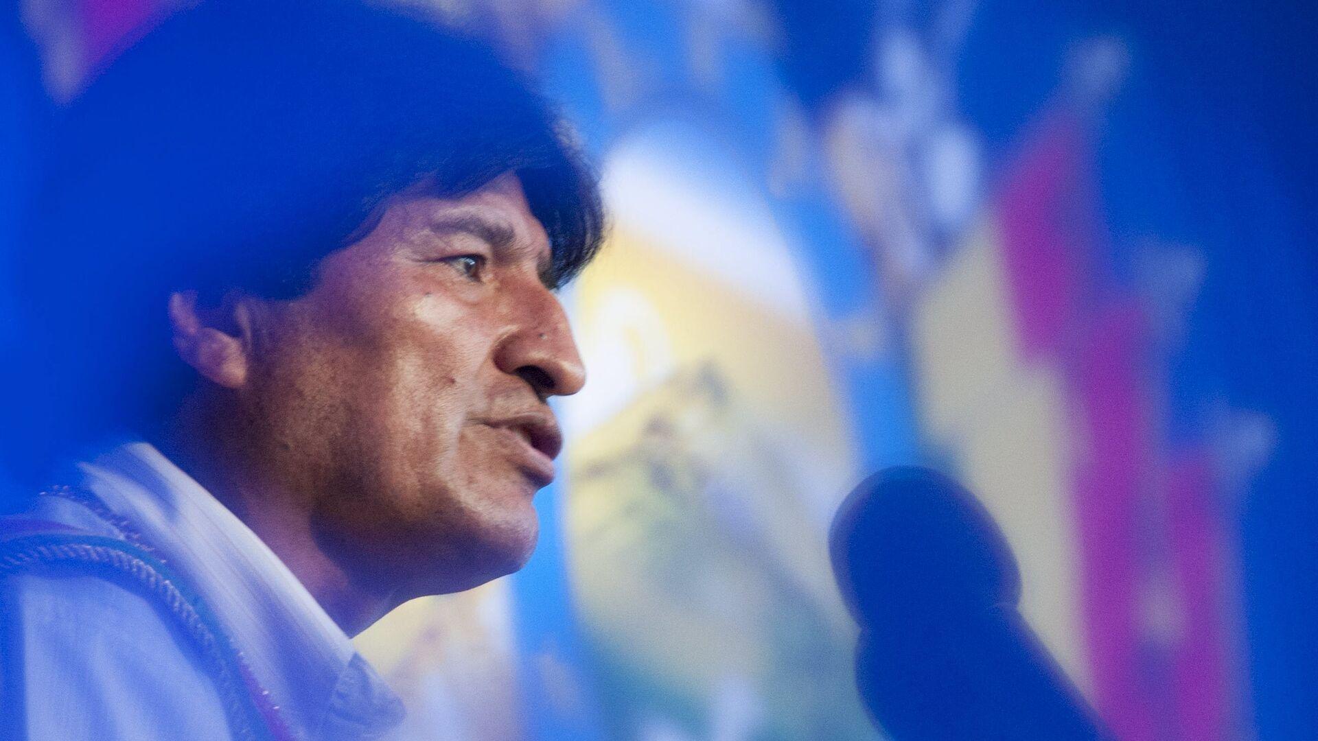 Evo Morales, expresidente de Bolivia - Sputnik Mundo, 1920, 29.09.2021