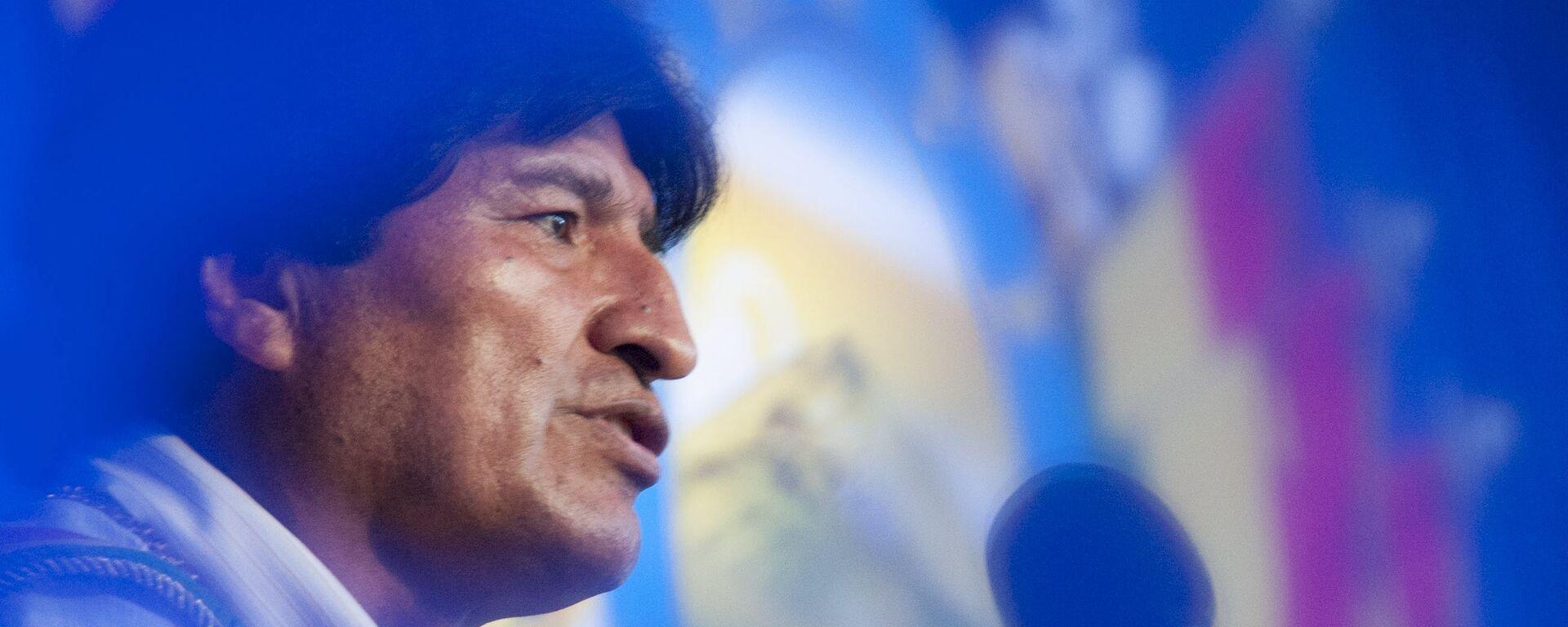 Evo Morales, expresidente de Bolivia - Sputnik Mundo, 1920, 30.08.2021