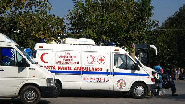 Ambulancia turca (archivo) - Sputnik Mundo