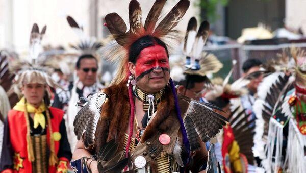 Eddie Two-Clouds, indio apache en el estado de Oklahoma, EEUU (Archivo) - Sputnik Mundo