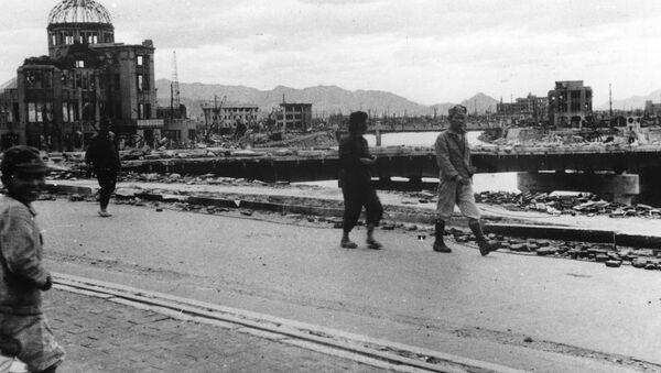 Hiroshima en octubre de 1945 - Sputnik Mundo