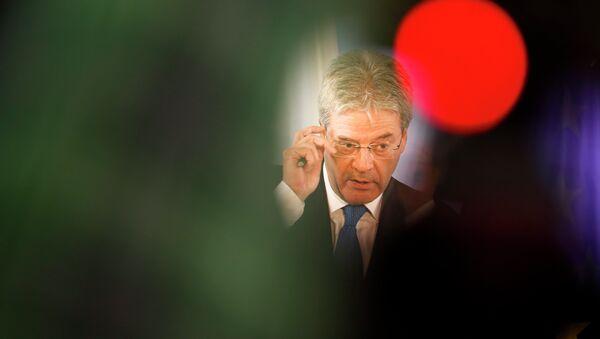 Paolo Gentiloni, ministro de Asuntos Exteriores de Italia - Sputnik Mundo