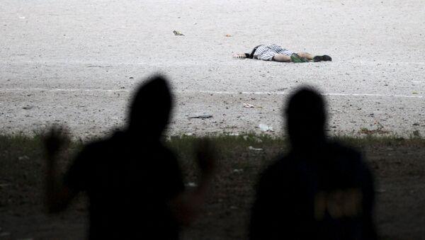 Según la información oficial, 2.865 personas fueron asesinadas en el país el primer semestre del año - Sputnik Mundo