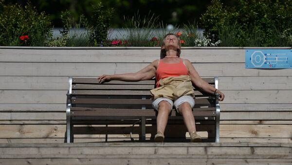 Moscú vive su día más caluroso del año - Sputnik Mundo