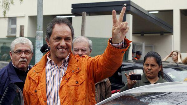 Daniel Scioli, candidato a la presidencia de Argentina - Sputnik Mundo