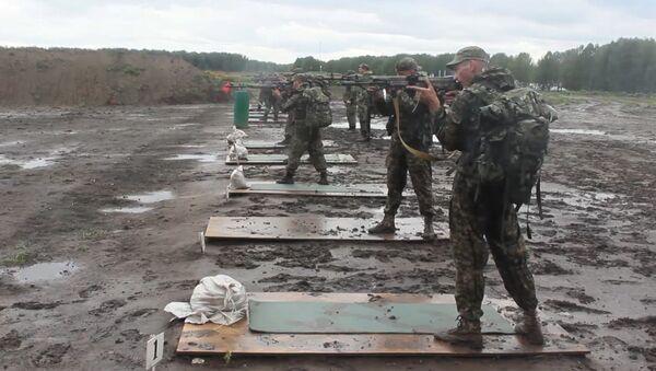 Soldados compiten en reconocimiento militar - Sputnik Mundo
