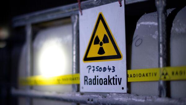 Depósito de residuos radiactivos en Alemania - Sputnik Mundo