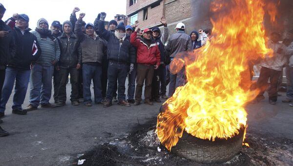 Ollanta Humala recurre al ejército para hacer frente a huelga de mineros - Sputnik Mundo