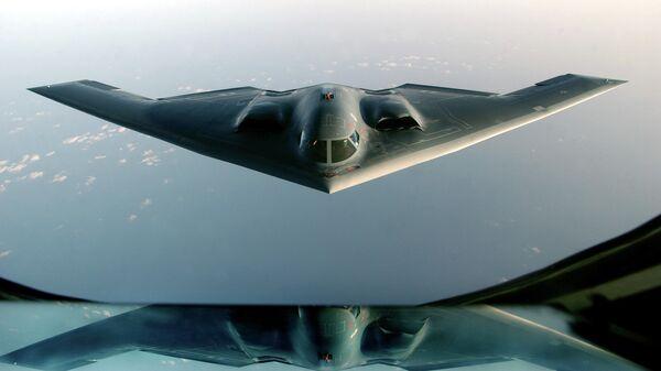 Bombardero estadounidense B-2 Spirit (archivo) - Sputnik Mundo