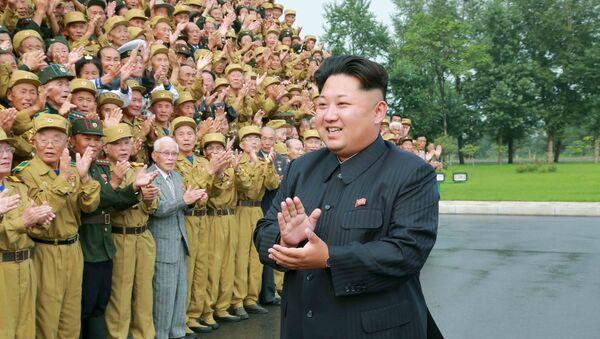 Kim Jong-un, presidente de Corea del Norte - Sputnik Mundo